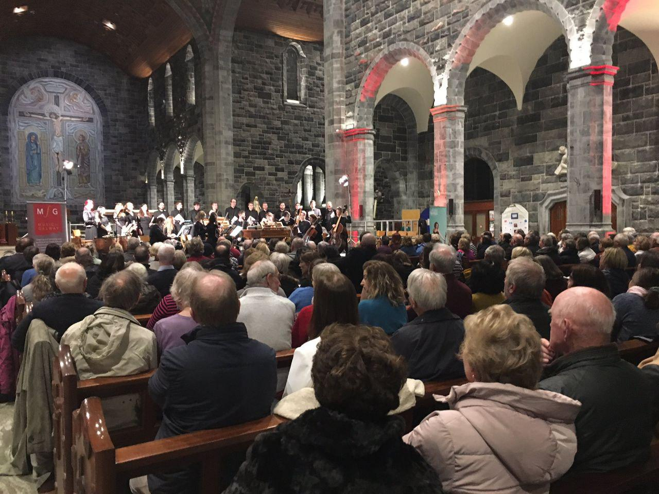 Handel's Messiah view crowd